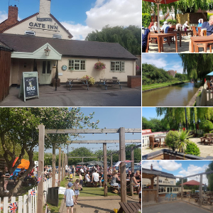 The Gate Inn beer garden Amington Tamworth