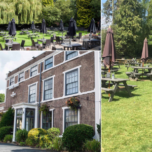 The Himley House Beer Garden in Himley