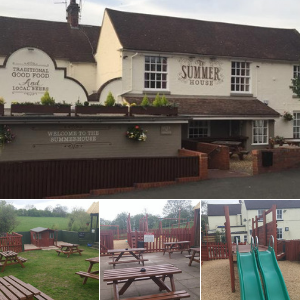 The Summerhouse beer garden in Sedgley, Dudley