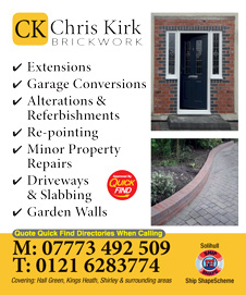 Chris Kirk Brickwork