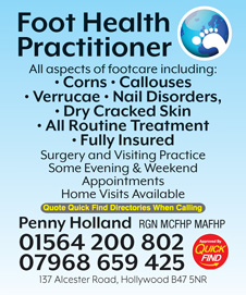 Penny Holland Foot Health Practitioner