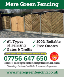 Mere Green Fencing