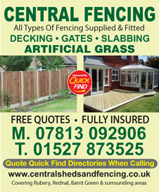Central Sheds and Fencing