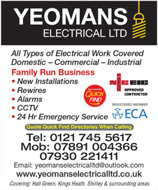 Yeomans Electricals Ltd
