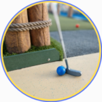 mini golf, things to do with the kids
