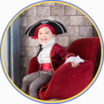 child dressed up as a pirate, things to do with the kids