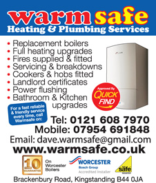 Warm Safe Heating and Plumbing Services