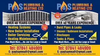 P&S Plumbing & Heating Ltd