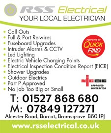 RSS Electrical Bromsgrove