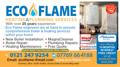 Eco Flame Heating & Plumbing Services