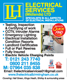 LH Electrical Services Midlands Ltd
