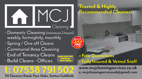 MCJ Cleaning