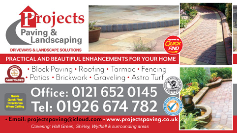 Projects Paving & Landscaping