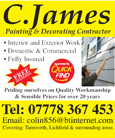 C James Painting & Decorating