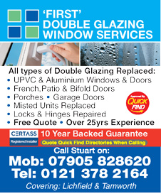 First Double Glazing