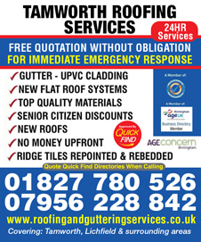 Tamworth Roofing Services