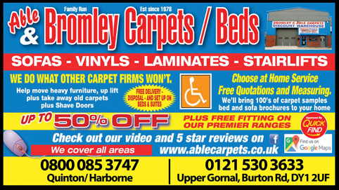 Able & Bromley Carpets