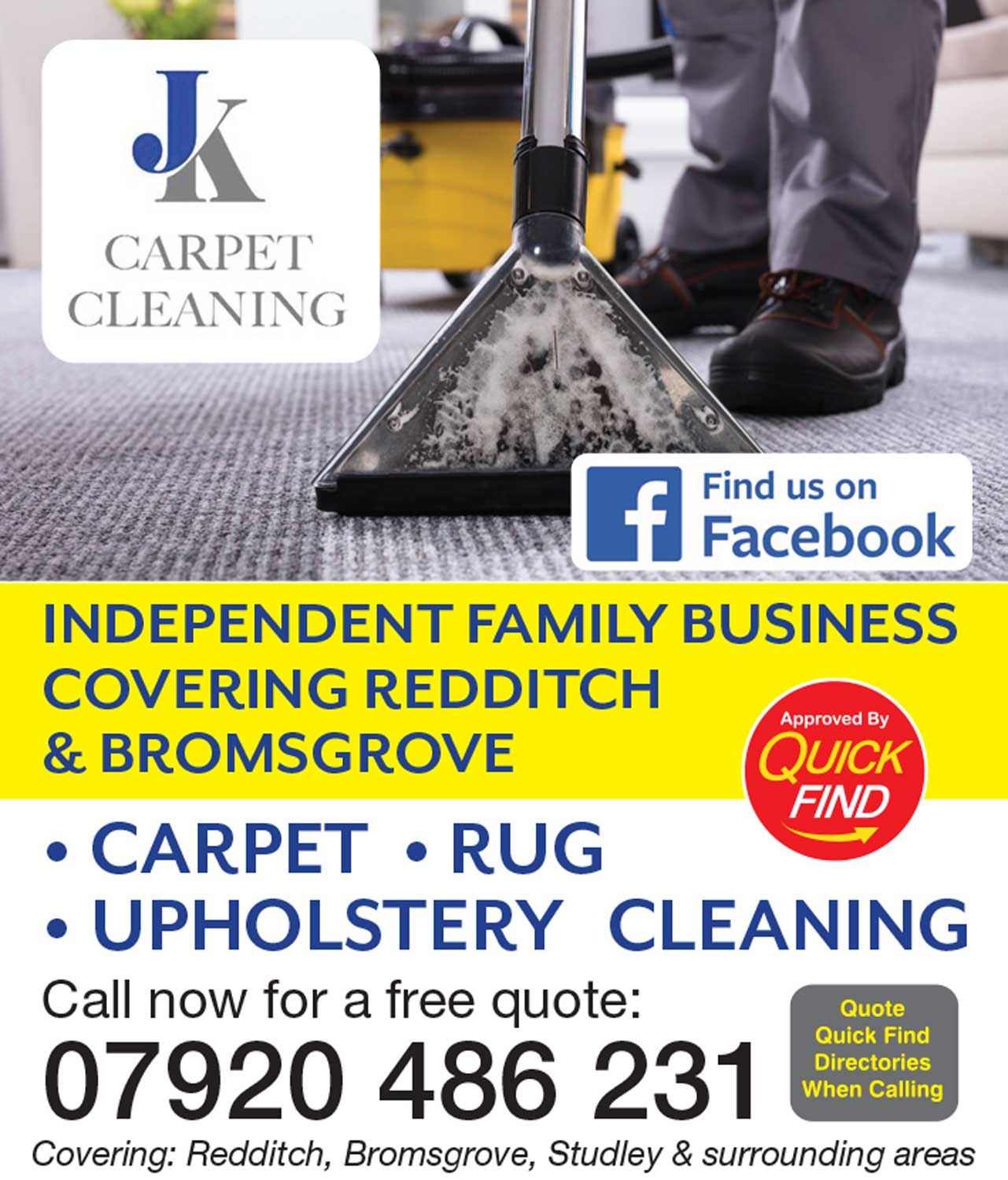 JK Carpet Cleaning
