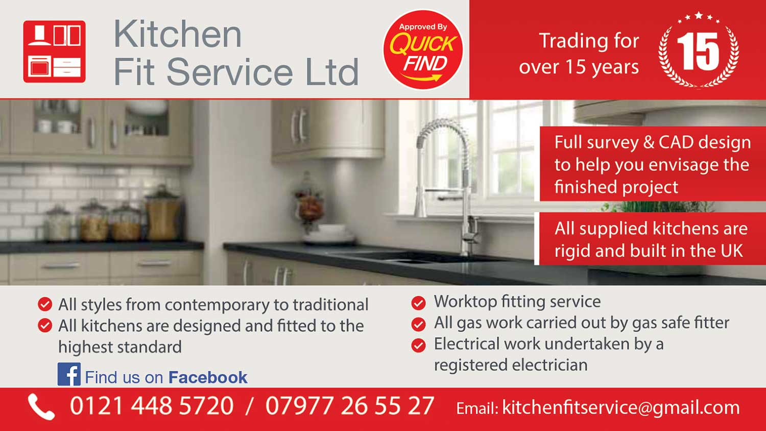 Kitchen Fit Service