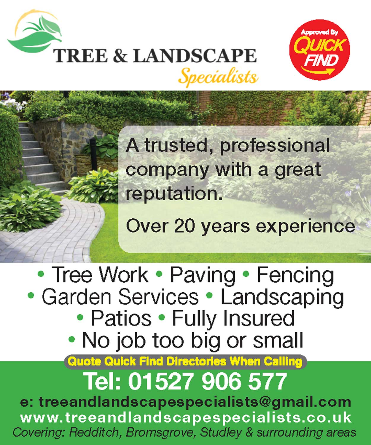 Tree & Landscape Specialists