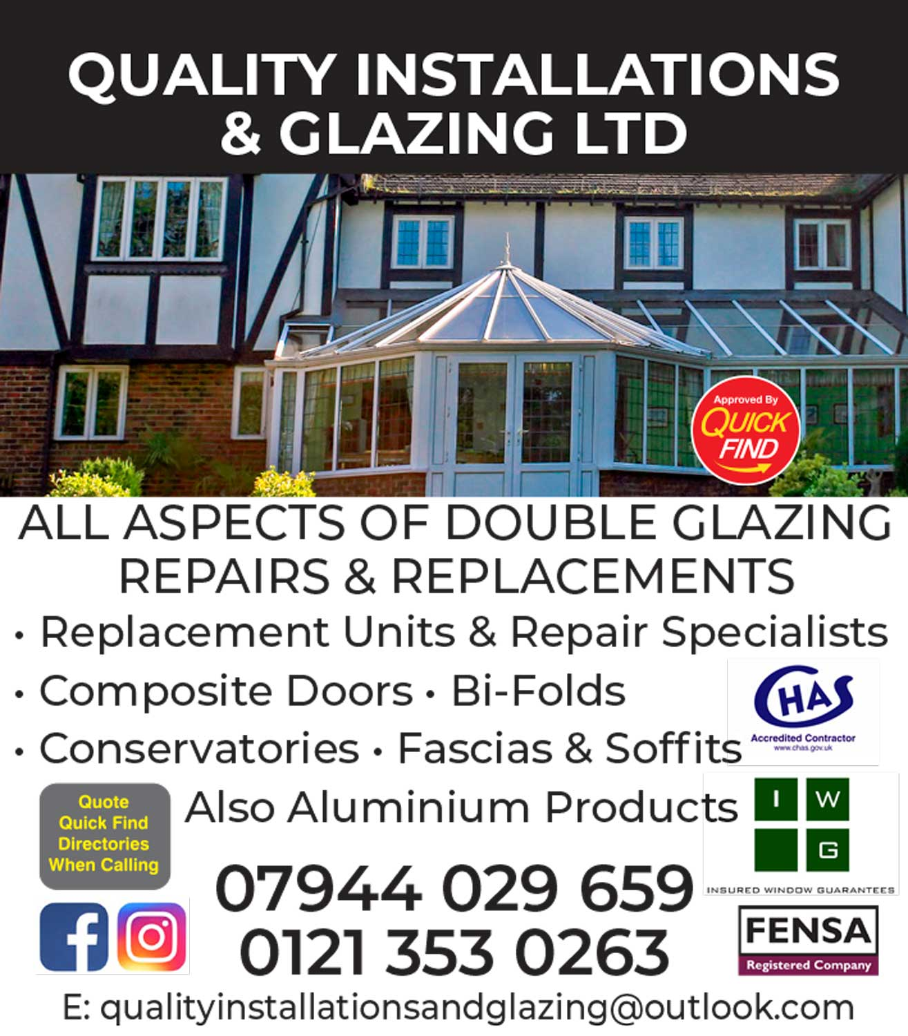 Quality Installations & Glazing Ltd