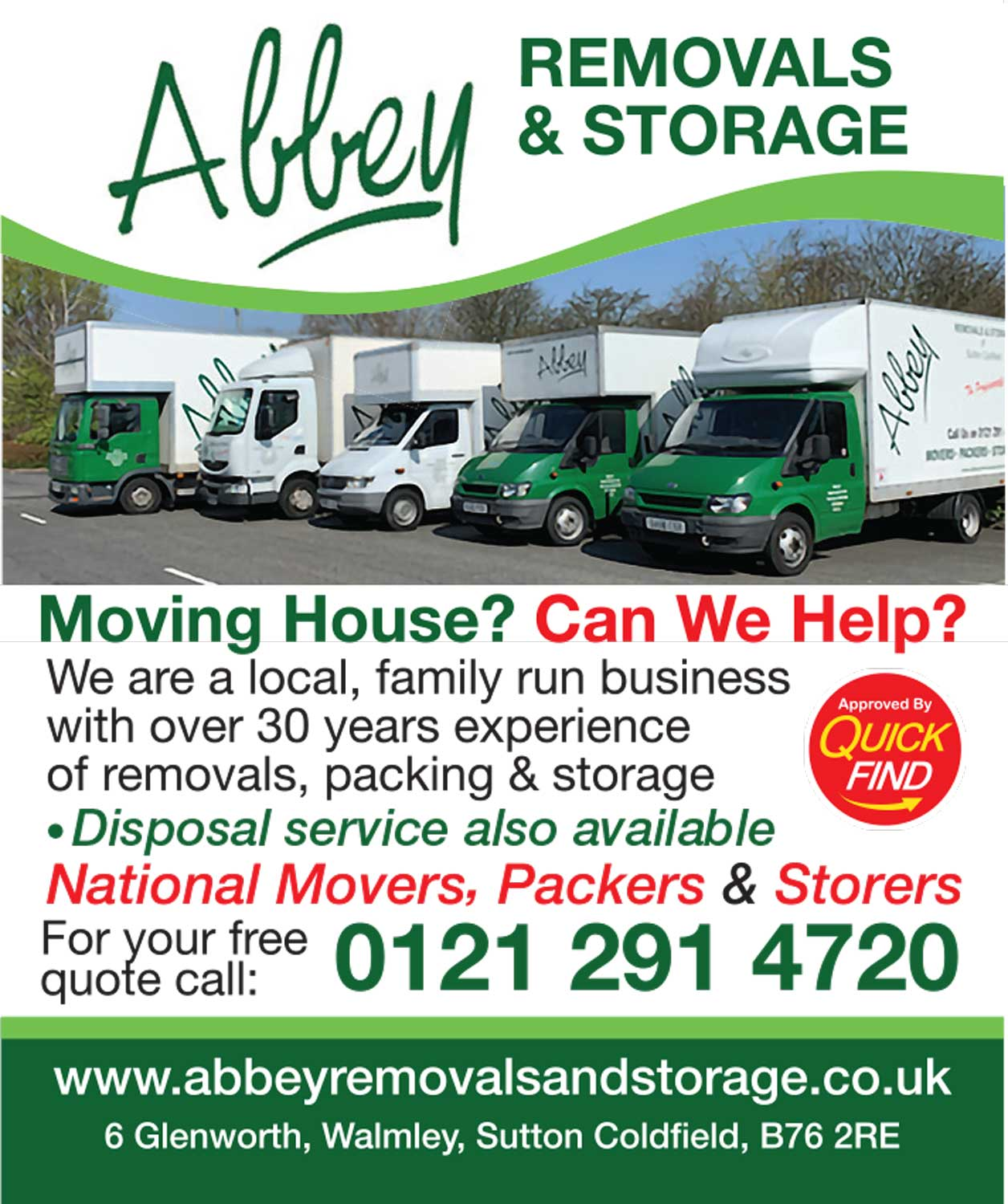 Abbey Removals & Storage