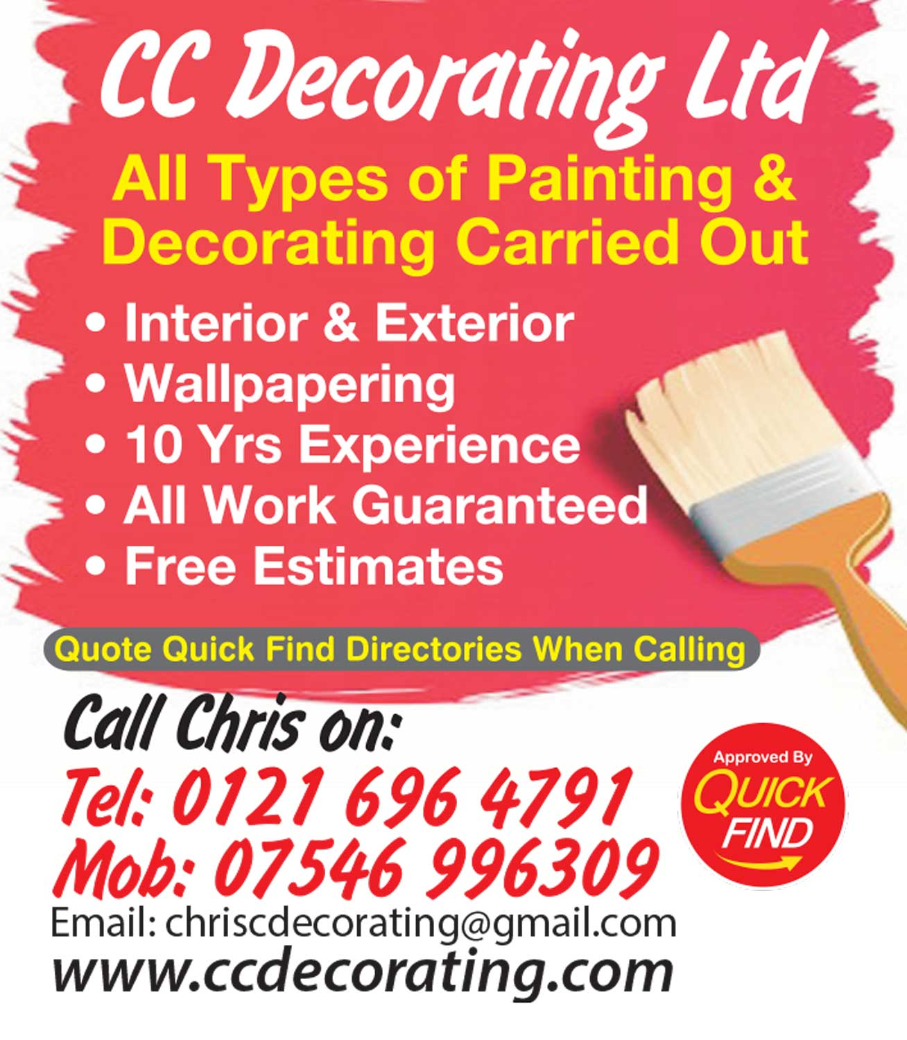 CC Decorating Ltd