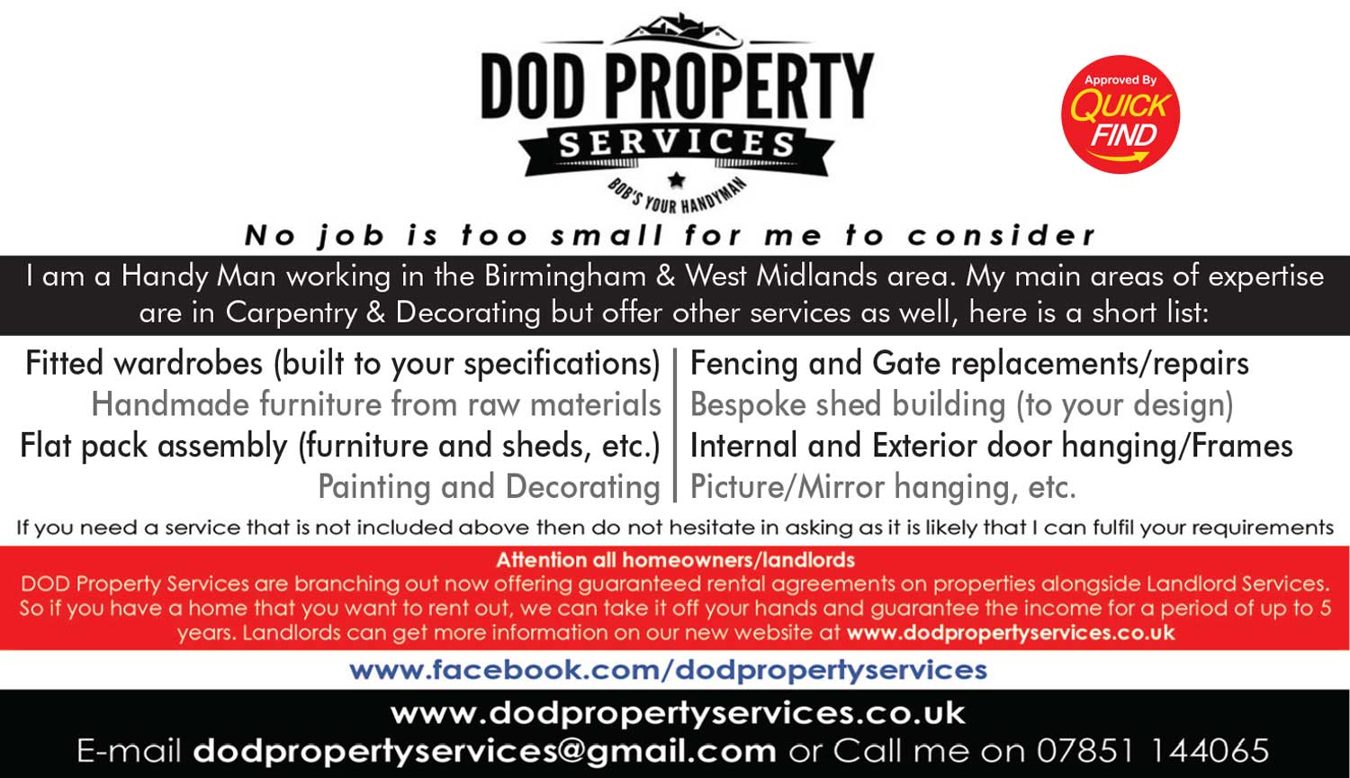 Dod Property Services