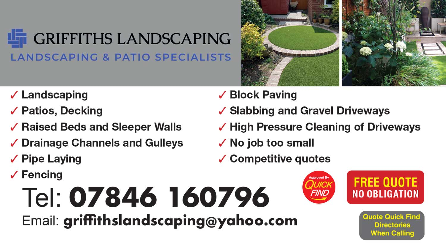 Griffiths Landscaping