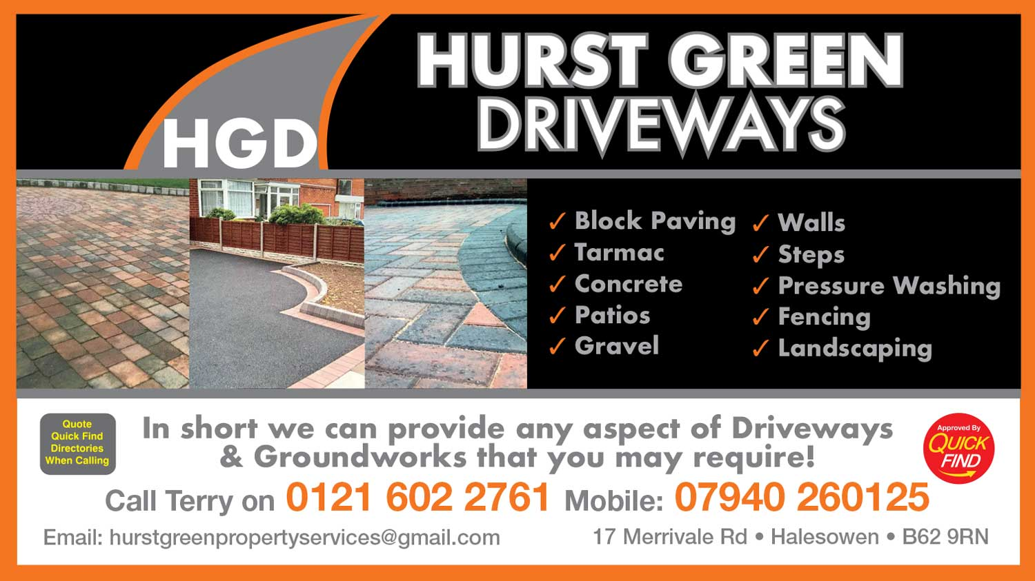 Hurst Green Driveways