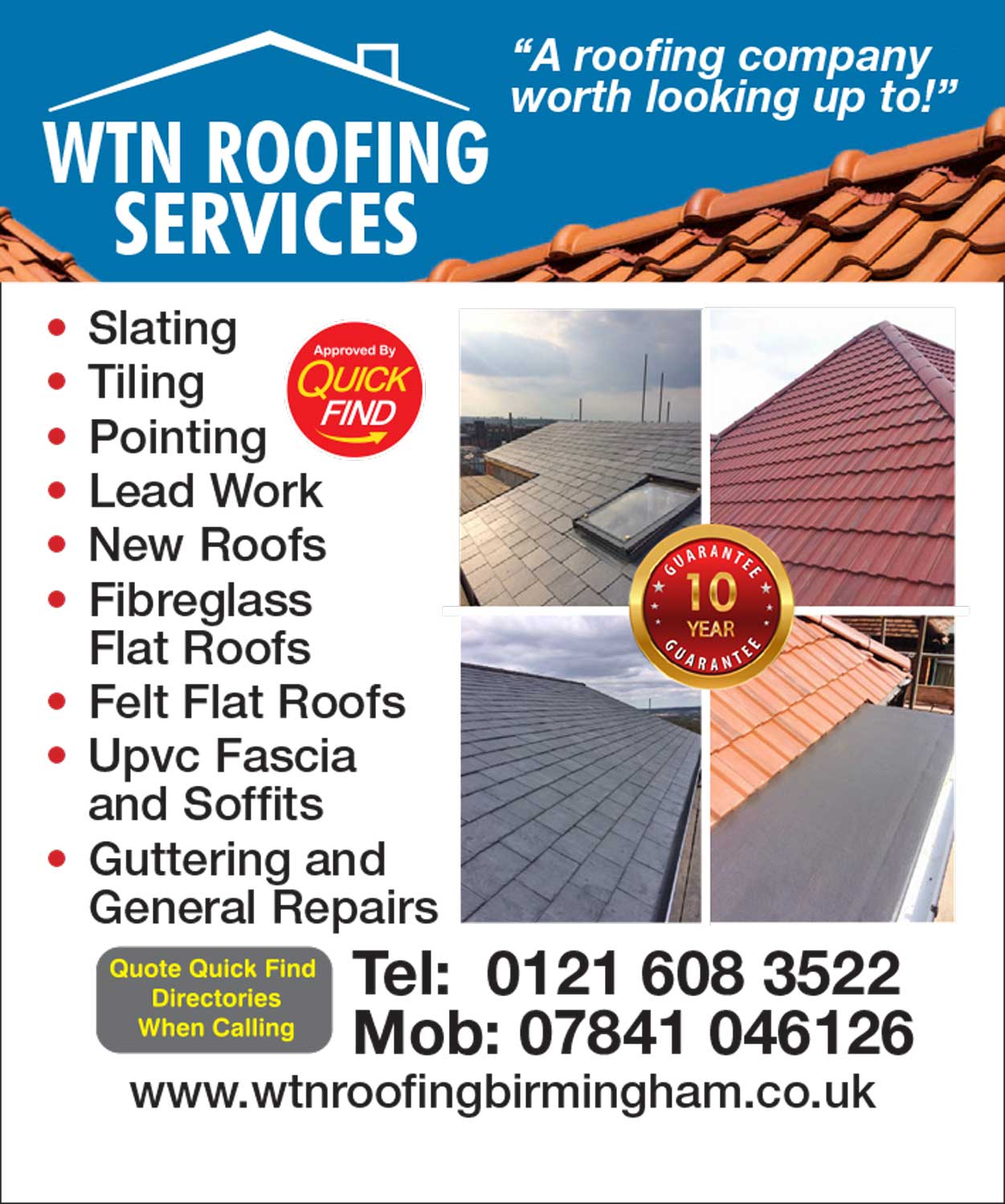 WTN Roofing Services