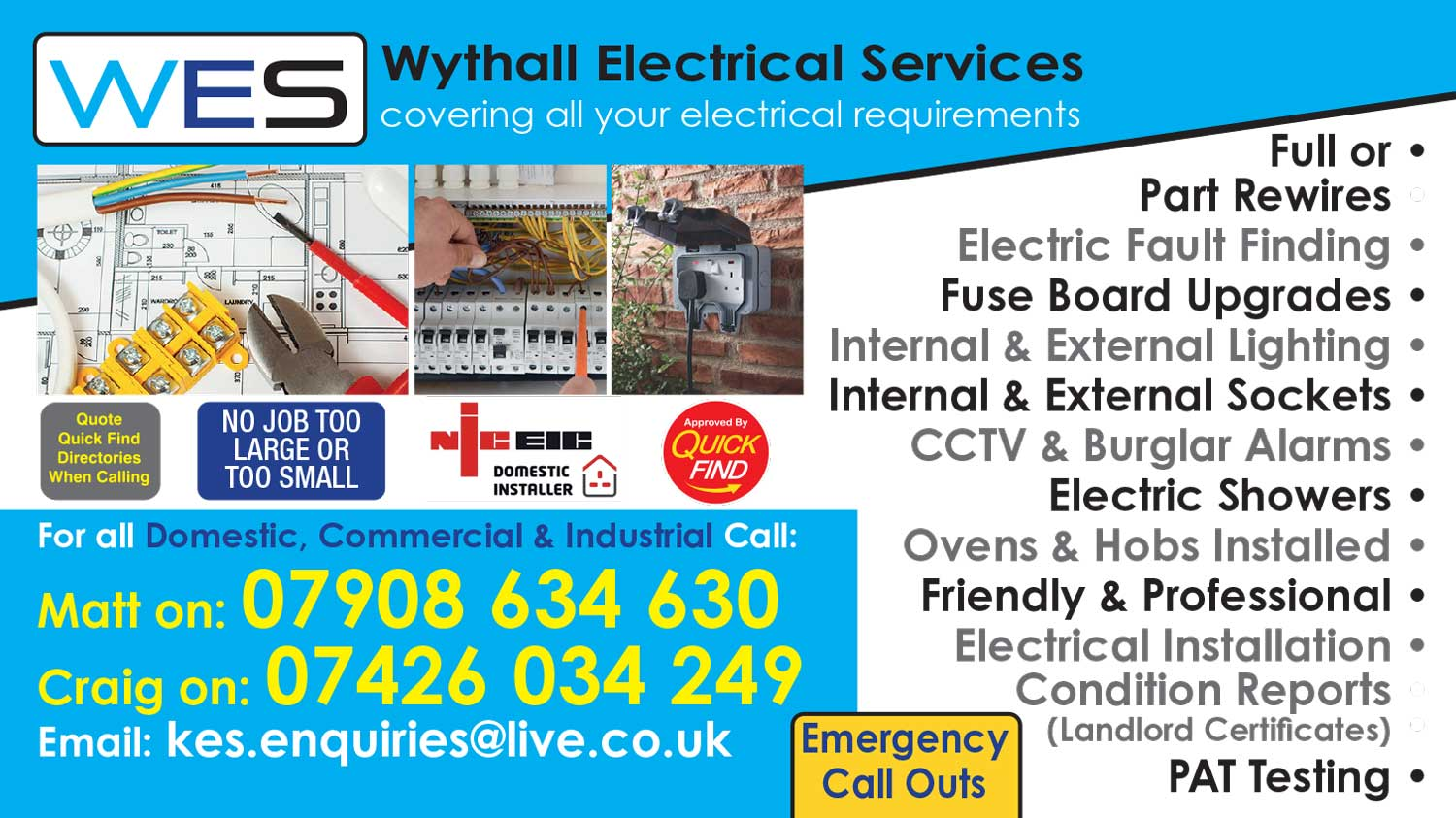 Wythall Electrical Services
