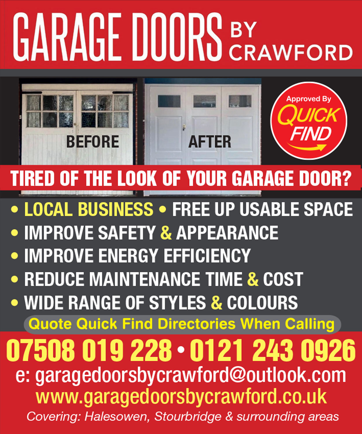 Garage Doors by Crawford