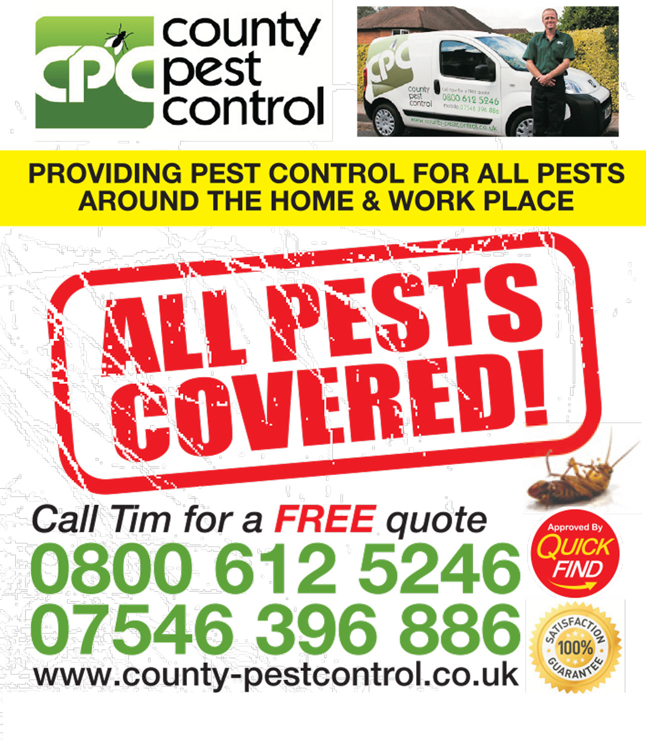 County Pest Control