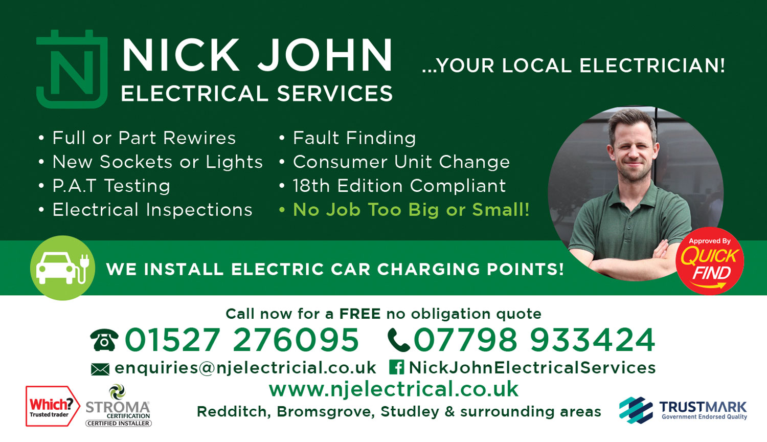 Nick John Electrical Services